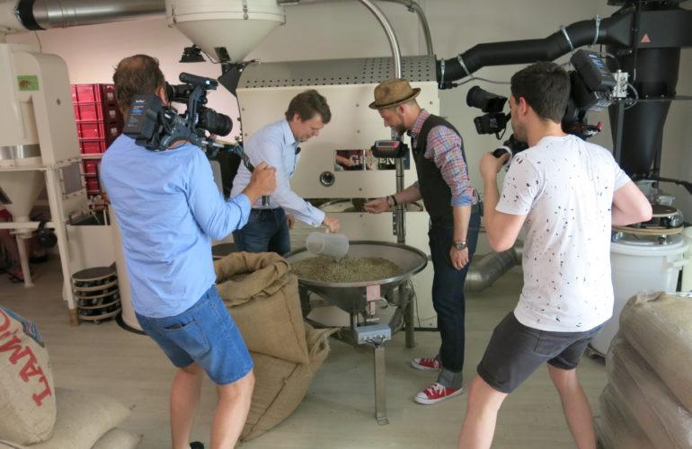 Hannemann Kaffee im MDR-Fernsehen