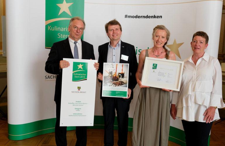 Kafferösterei Hannemann gewinnt den Kulinarischen Stern