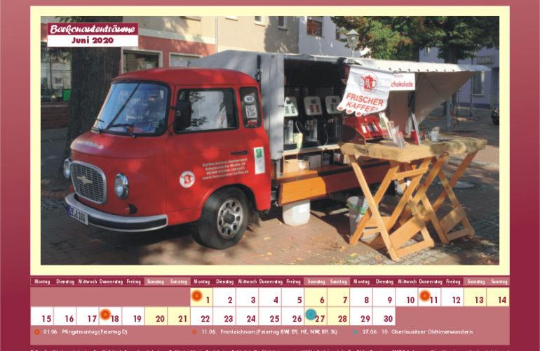 Barkonautenträume 2020 – der Barkaskalender