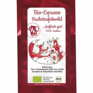 Bio Espresso Fuchsteufelwild