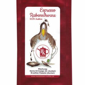 Espresso Rabenschwarz