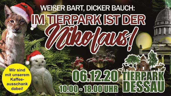 Nikolaus im Tierpark Dessau