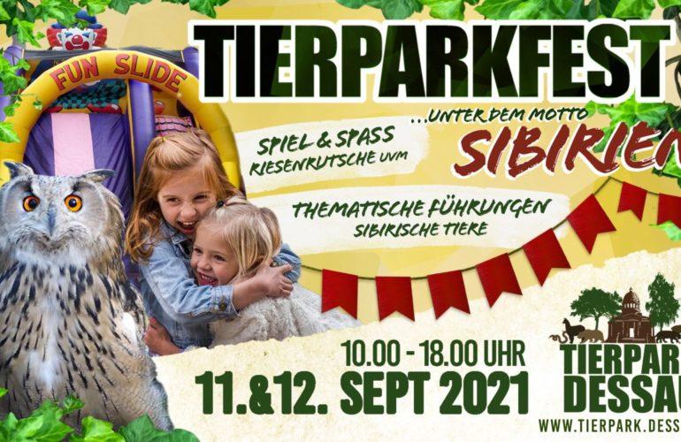 Tierparkfest Dessau – wir sind dabei!