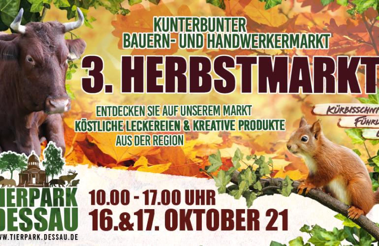 Herbstmarkt im Tierpark Dessau